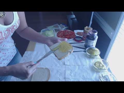 Visual ASMR ~ Making Sandwiches