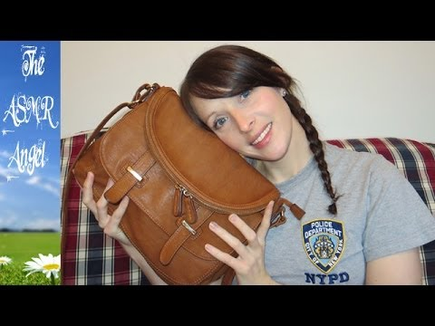 ASMR Whispering what's in my bag / Purse