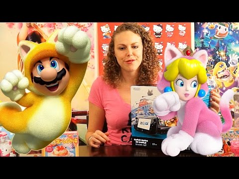 Toy Tingles #12 - ASMR Wii U Unboxing Super Mario World 3D Tapping, Scratching, Crinkle Triggers