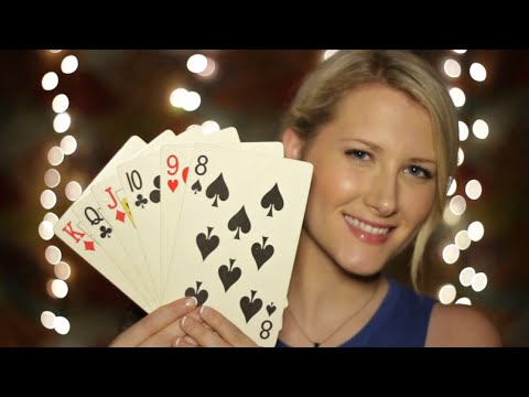 Thrifty Tingles: Poker Chips & Giant Cards - Binaural ASMR - Soft Spoken, Tapping, Sticky Fingers
