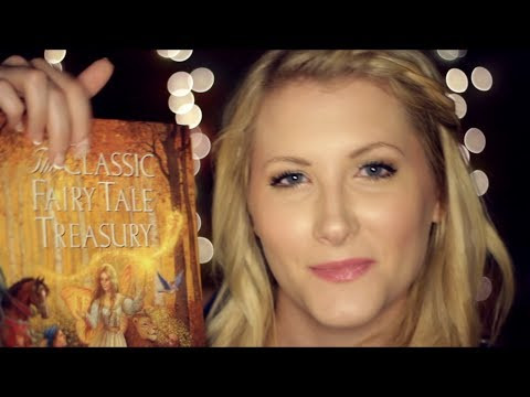 Bedtime Fairy Tales - Binaural ASMR - Soft Spoken/Whisper, Reading, Page Turning, Tapping
