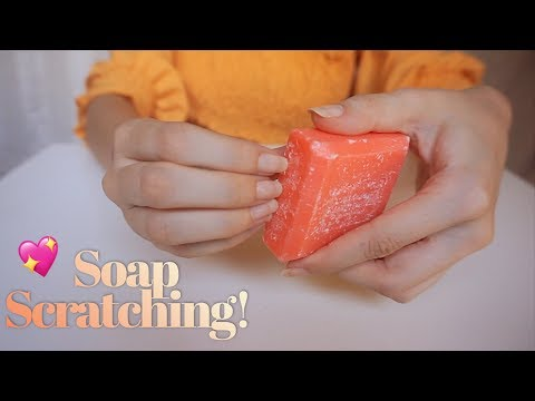 ASMR Binaural 🎧 Soap Tingles! ✨ Scratching, Tapping & Crinkles