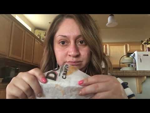ASMR Eating Taco Bell & Chit Chat