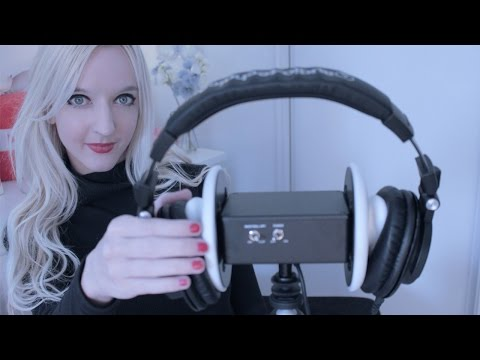 ASMR Headphones Over Your Ears ♡ Triggers for Sleep (Tapping, Scratching, Cupping)