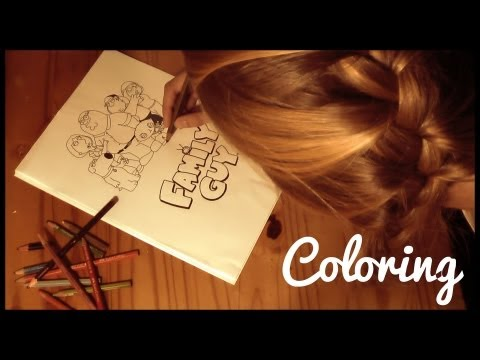 ASMR ✎ Relaxing Coloring Sounds ✍