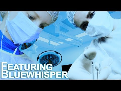 ASMR Alien Abduction (Part Two) 👽 Surgical Removal of the Alien Implant ~ Collab W/ Bluewhisper