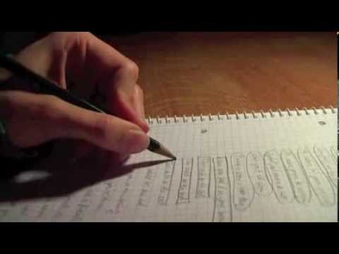 ASMR ✎ Relaxing Writing & Doodling with a Pencil ✍
