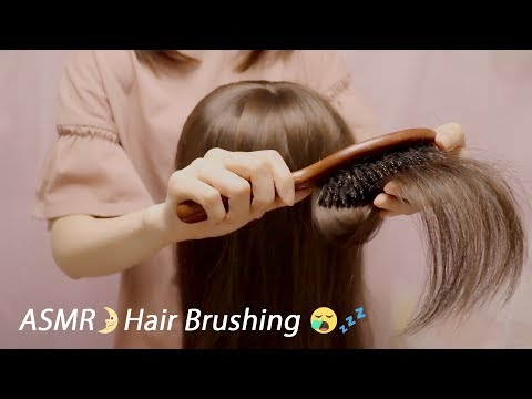 (ENG SUB)[Japanese ASMR] Scalp Massage, Hair Brushing / Whispering