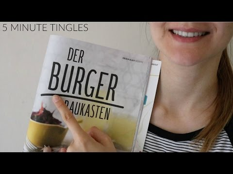 Binaural ASMR ♥ Turning Pages & Tracing for Relaxation