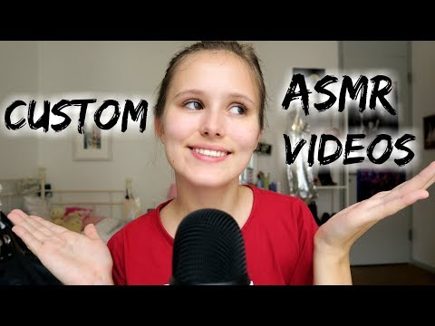 Making Custom ASMR Videos! | Update :) | cara0cara ASMR