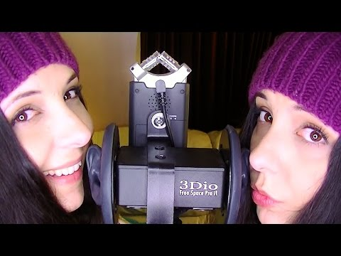 ASMR Let Me Give You SKisses!  Twin Binaural SK And Kiss Sounds To Trigger Tingles & Help You Relax
