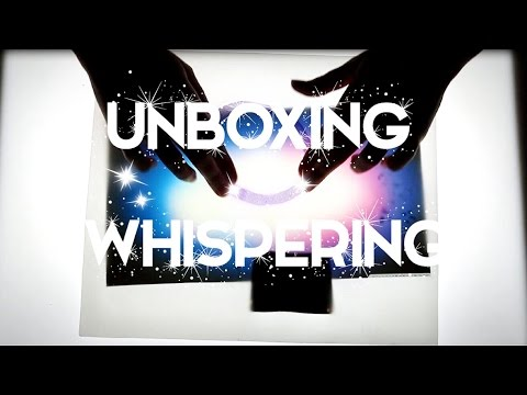 ASMR Unboxing artistique - Tapping - Whispering - Ear to ear - EXPO sur Paris