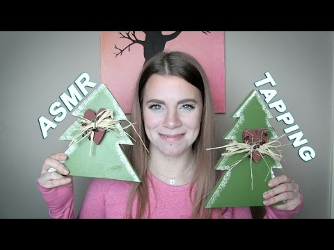 Tappy Little Trees! And... My Coffee.  (ASMR Sounds)