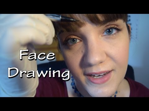 ASMR - Let Me Draw on Your Face