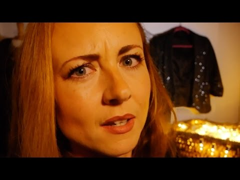 ASMR Role Play ➙ The Jacket Racket ➙ Binaural Leather, Fabric & Sequins