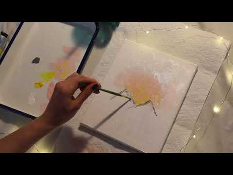 ☪SOFT WHISPERING ASMR☪PAINT WITH ME!