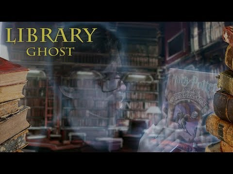 Hogwarts Library Ghost  [ASMR] Harry Potter Roleplay
