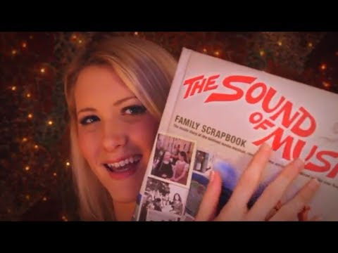 Time Travel Tuesday (& Announcement): The Sound of Music - ASMR - Soft Spoken, Tapping, Page Turns