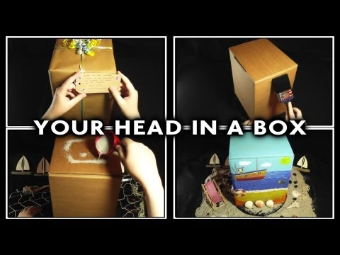 100. Your Head In A Box (3D Binaural - Wear Headphones) - SOUNDsculptures - ASMR