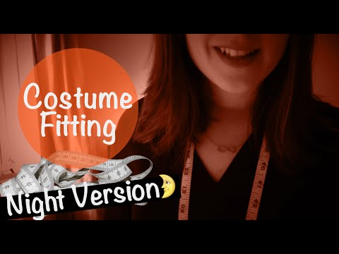[Night Version🌙] Let's Measure You ✂️ Costume Fitting Roleplay *ASMR*