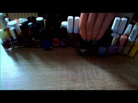 ASMR Nail Polish Collection (w/ Soft Spoken Commentary)