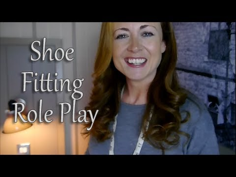 ((^^An ASMR Shoe Fitting Role Play^^))