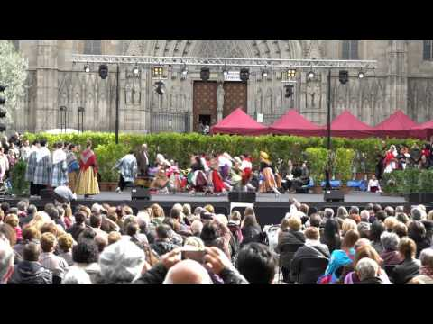 Traditional Catalan Dance in Barcelona