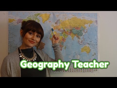 ASMR~ 🌎Terrible Geography Teacher RolePlay 🌎