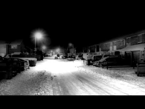 Evening Walk in the Snow for Relaxation & Sleep ( No Speaking / Binaural ASMR )