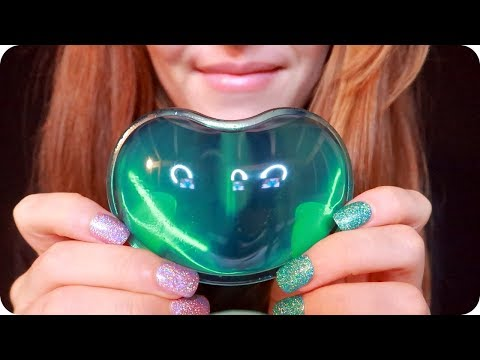 ASMR Gel Ear Massage 💚 1 Hour for Sleep