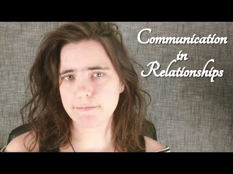 ASMR Communicating in Relationships