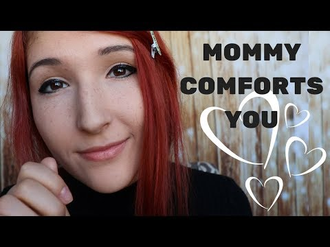 """ASMR - MOMMY ROLEPLAY ~ Mom Comforts You After Nightmare 