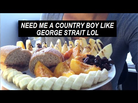 BREAKFAST WITH GEORGE STRAIT LOL (love country music :)