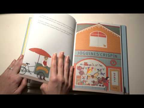 ASMR Reading Bedtime Story in Catalan   Whispering   Thick Pages   LITTLE WATERMELON