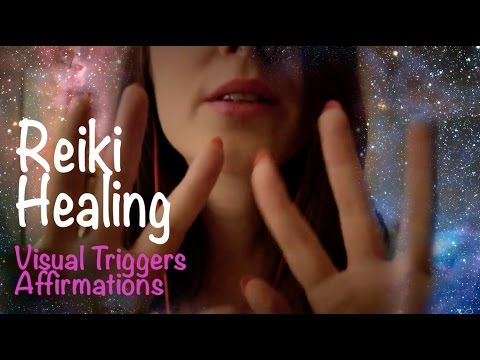 Reiki Energy Healing Role Play ASMR for Trouble Sleeping 💆🏽Hand movements, affirmations, spa music