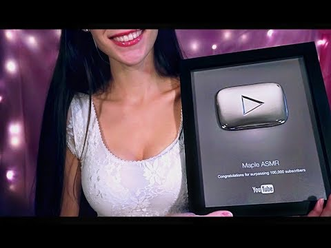 ASMR PlayButton Unboxing ! YAY 🎉