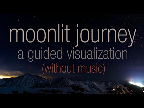 [BINAURAL ASMR] Moonlit Journey: A Guided Visualization (ear to ear whispering, no music)