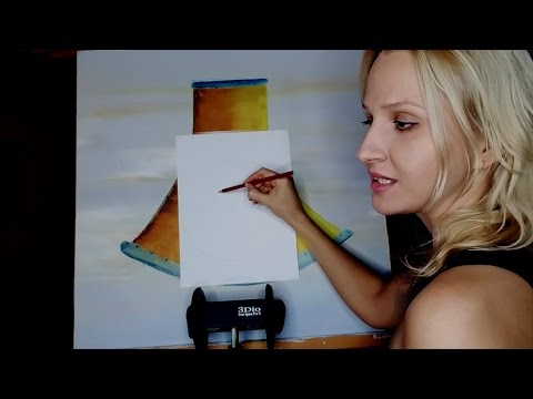 ASMR Drawing, GREAT Sounds ➤ Pencil on Paper, Crinkles, Soft speaking