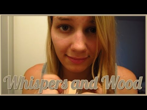 [BINAURAL ASMR] Whispers and Wood (ear-to-ear whisper, lid opening, tapping, scratching)