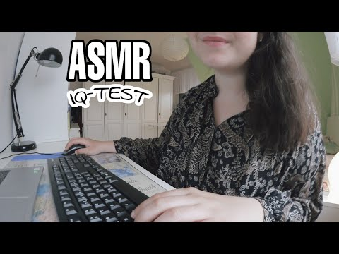 ASMR - ICH TESTE DEINEN IQ ROLEPLAY - Testing Your IQ Role Play - german/deutsch