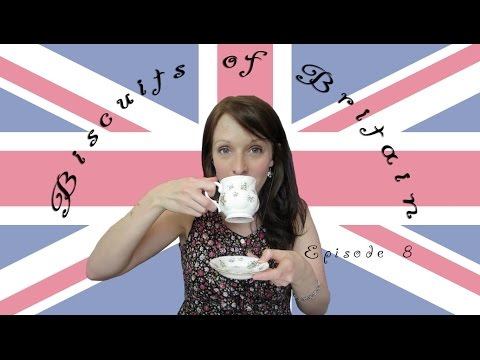ASMR Biscuits of Britain and Beyond - Tea Drinking and Biscuit Tasting EP8