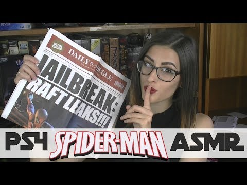 Daily Bugle ~  reading Spider-man (Playstation 4 2018) newspapers ~ ASMR