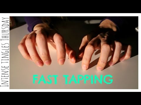 ASMR ♥ inTense Tingles Thursday: Ear to Ear Fast/Speed Tapping