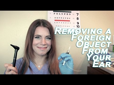 ASMR Medical RP - Removing a Foreign Object From Your EAR!