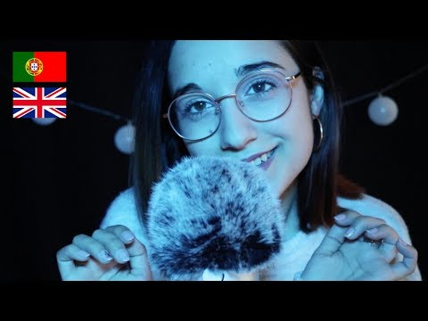 [ASMR] Ear to Ear Close Whispers | Winter Trigger Words ❄️English/Portuguese 🇬🇧🇵🇹