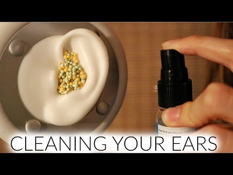 ASMR ♥ 3Dio Ear Cleaning Role Play