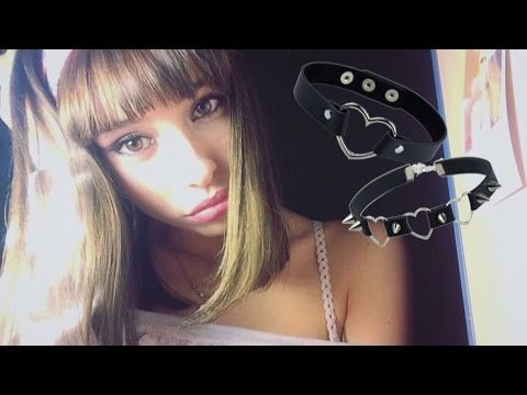 ASMR My Choker Collection   Relaxing Whispers