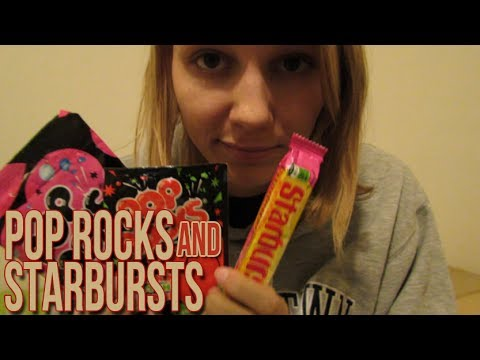 [BINAURAL ASMR] Pop Rocks and Starbursts! (mouth sounds, ear-to-ear)