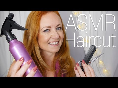 ✂️ Relaxing ASMR Haircut Role Play w/ Head Massage ✂️