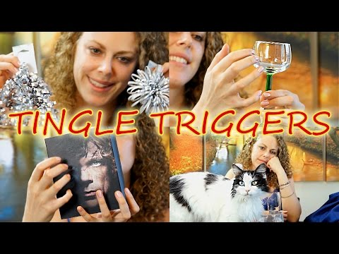 ✶ ASMR Tingle Triggers #1 ✶- Sound Assortment Tapping, Scratching, Whisper 3D Sound Binaural